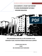 Community Living Environment in Public Housing Malaysia - Study Visit Report