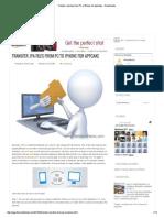 Appacake Files Transfer