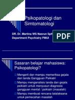 Psikopatologi Dan Simtomatologi - Copy