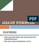 Ujian Formal