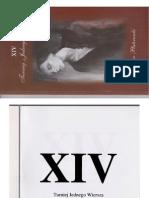XIV Turniej Jednego Wiersza o Laur Plateranki. Tomik finałowy w wersji PDF