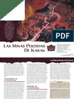 Scales of War 4 - Las Minas Perdidas de Karak