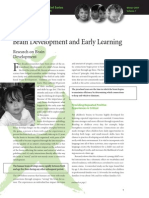 Brain Dev and Early Learning