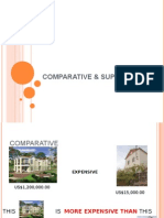 Comparative Adjectives II