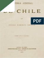 Historia General de Chile T.xvi. Diego Barros Arana
