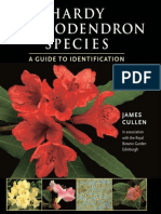 Hardy Rhododendron Species