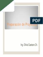 Clase 11 Preparación de Proyectos - Ingresos y Costos