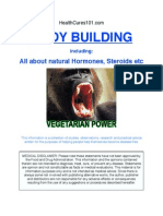 Bodybuilding-Vegetarian Power ( Natural Supplements )