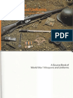 World War I Weapons Uniforms Source Book