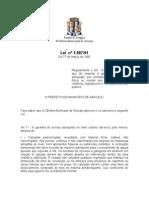 Lei168-7 Deficiente Fisico