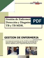 1 Gestion de Enfermeria en El Diagnosrico de La TB.tb MDR en Los Servicios de Salud