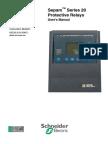 63230-216-208C1 Sepam Series 20 User Manual