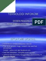 Kuliah 4 - Teknologi Infokom