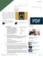 How to Build Speaker Cones   eHow.com