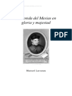 Manuel Lacunza La Venida Del Mesias en Gloria y Majestad