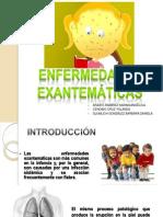 Rubeola , Parotiditis y Parvovirus, Enf. Exantematicas