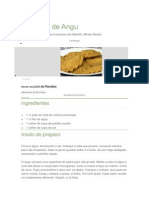 Pastel de Angu
