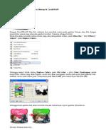 Cara Merubah Warna Gambar Bitmap Di CorelDRAW