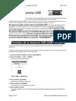 SPD-30 Uso de La Memoria USB