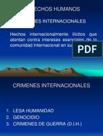 CRIMENES INTERNACIONALES