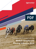 The Economic Impact of the British Greyhound Racing industry 2014