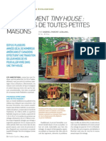 Le mouvement Tiny House
