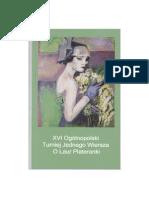 XVI Turniej Jednego Wiersza o Laur Plateranki. Tomik finałowy w wersji PDF