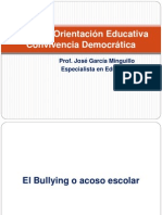 1.BULLYING Y PLAN DE CONVIVENCIA  - IMPLEMENTACIÓN DIAPOSITIVAS