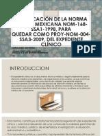 Modificacion a La Norma (m. Semiologicos)