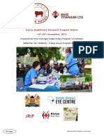 healthcare outreach program report 2013