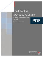 The Effective Executive Assistant