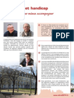 Grand Age et Handicap - Projet Osez l'avenir à Vitré avec Hervé UTARD