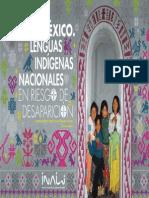 Lenguas Indigenas Nacionales en Riesgo de Desaparicion Inali