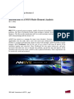 Ansys Lab1