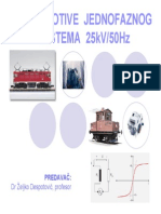 Lokomotive Jednofaznog Sistema 25kv, 50hz