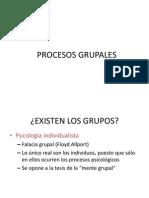 Procesos grupales