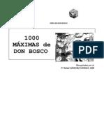 1000 máximas de San Bosco - Rafael Sánchez Vargas