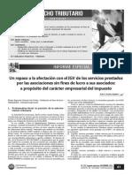 RAMOS ANGELES, Jesús -  Un repaso a la afectacion con el IGV de los servicios prestados por las asociaciones sin fines de lucro a sus asociados - copia.pdf