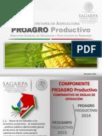 Delegados Proagro-productivo 2014 (Ejec)