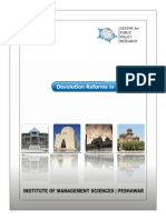 Devolution Reforms