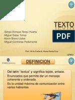 TEXTO Sergio Enrique