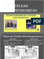 Celdas Electroquimicas Electroliticas y Voltaicas
