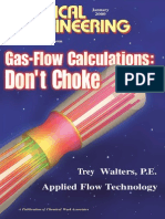 Gas-flow Calculations - Don't Choke