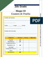 2do Grado - Bloque 3 - Primaria Bonfil