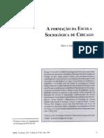 A formação da Escola de Chicago