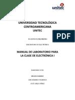 Manual Electrónica I
