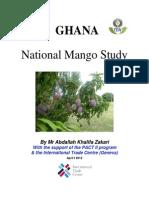 National Mango Study - Ghana