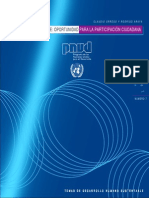 Internet en Chile. Oportunidad para la participación ciudadana