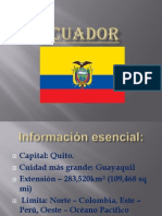Ecuador Geografia