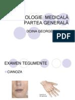 SEMIOLOGIE  MEDICALA GENERALA
